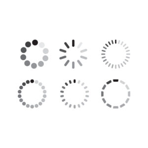 Free Vector Loading-Icon-Collection