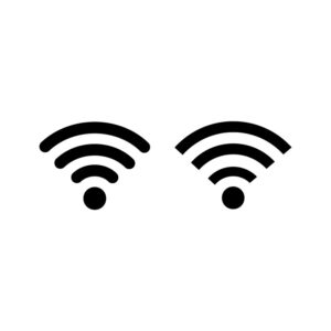 wifi icons set. internet icons. free vector