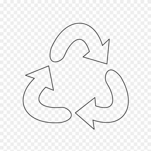 Recycle icon clipart