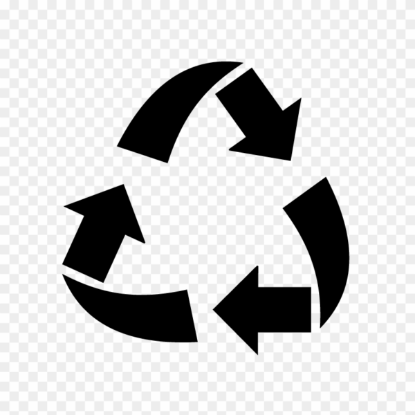 Recycle icon png clipart