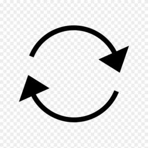 Recycle arrow icon png
