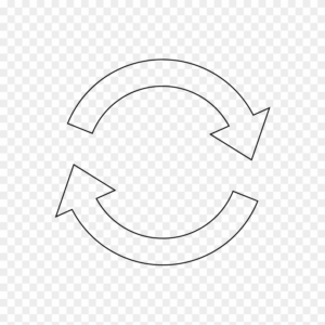 Recycle icon arrow png